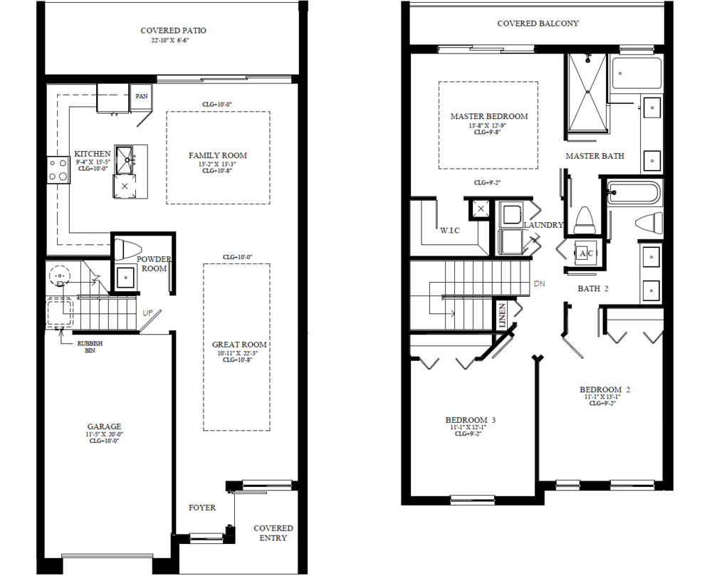 The Adeline Floorplan