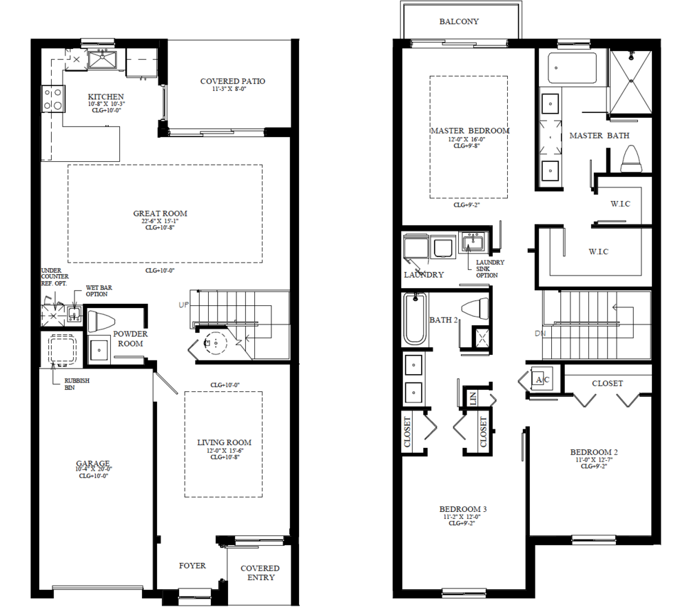 The Blake Floorplan